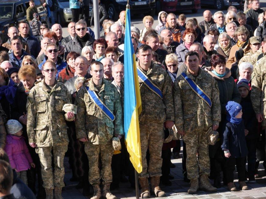 Тисячі тернополян прийшли на відкриття пам'ятника Героям Небесної Сотні (ФОТОРЕПОРТАЖ), фото-19