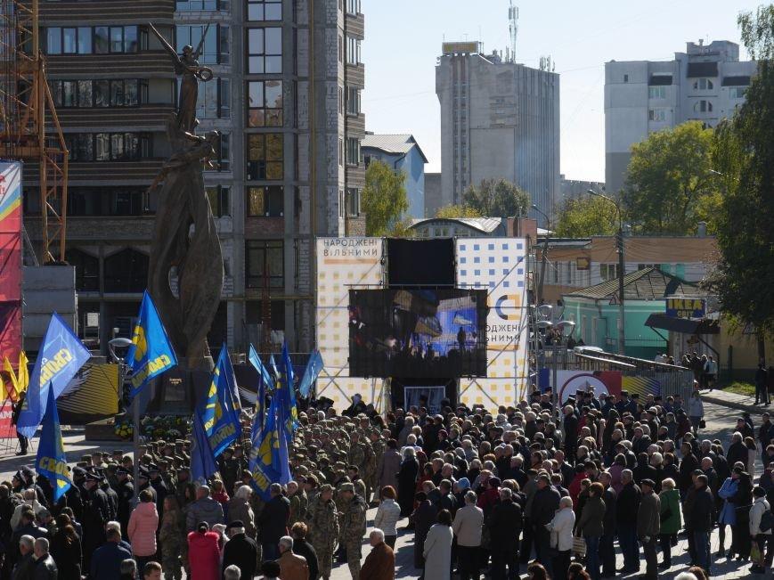 Тисячі тернополян прийшли на відкриття пам'ятника Героям Небесної Сотні (ФОТОРЕПОРТАЖ), фото-24