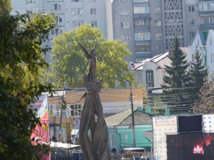 Тисячі тернополян прийшли на відкриття пам'ятника Героям Небесної Сотні (ФОТОРЕПОРТАЖ), фото-11