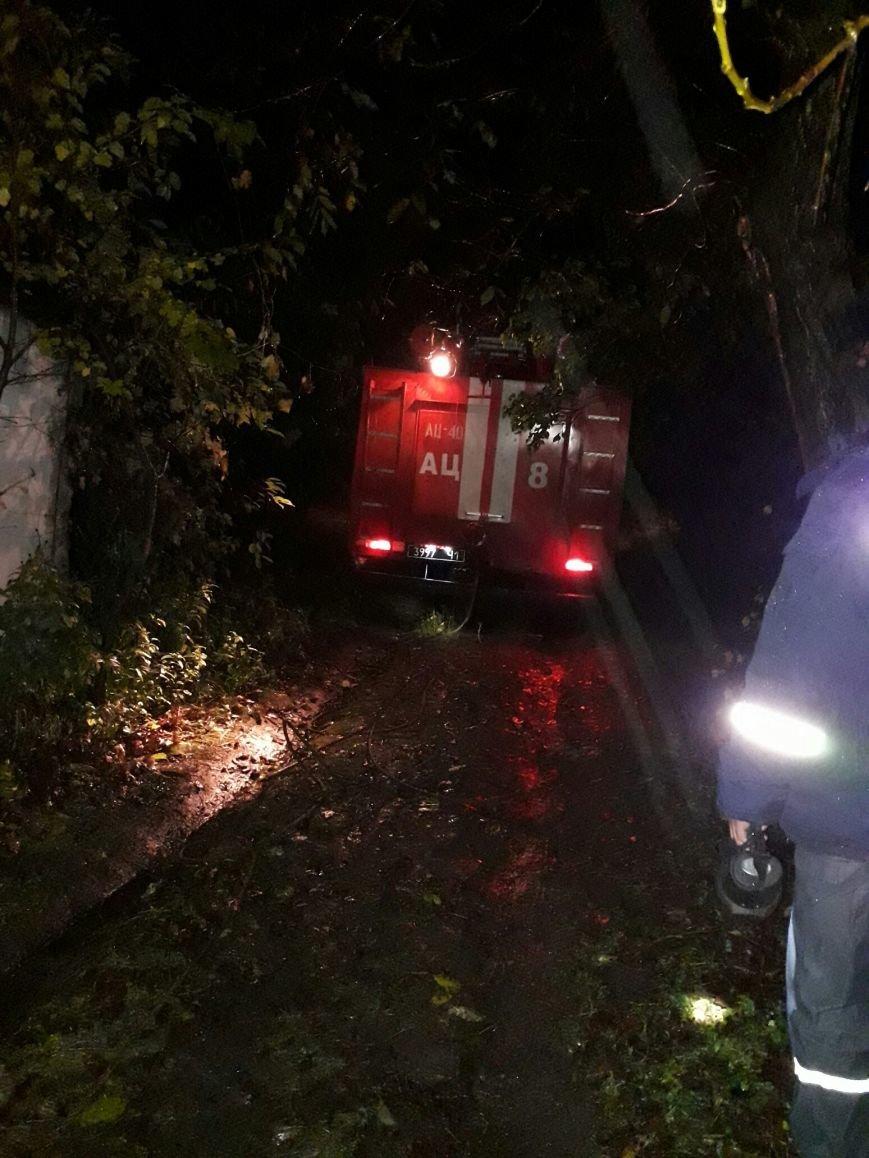 В Каменском застрявшую в грязи скорую пришлось доставать спасателям, фото-2