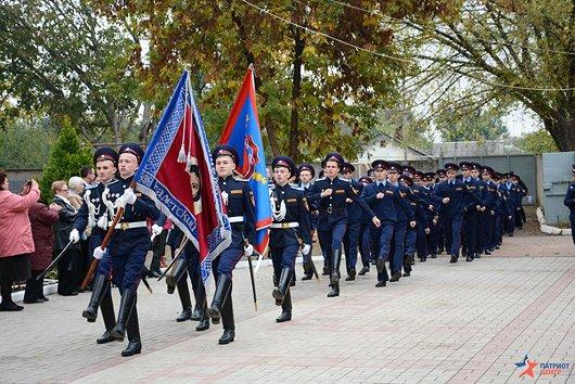 В праздник Покрова в Симферополе открыли первый казачий класс и приняли в казаки 57 мальчиков и девочек (ФОТО), фото-3