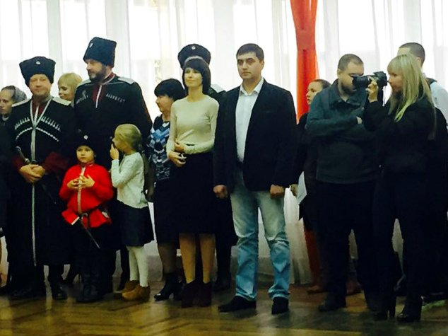 В праздник Покрова в Симферополе открыли первый казачий класс и приняли в казаки 57 мальчиков и девочек (ФОТО), фото-2