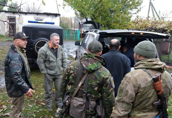 Руководитель полиции Кировоградщины Сергей Кондрашенко посетил бойцов батальона «Кировоград», что сейчас несут службу в зоне АТО, фото-2