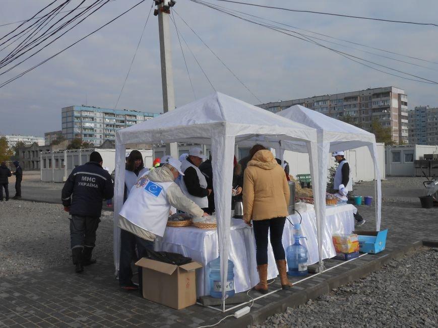 В Каменском состоялась акция по озеленению модульного городка для переселенцев, фото-4