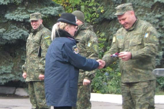 В Мирнограді (Димитрові) підвищили поліцейських, фото-3