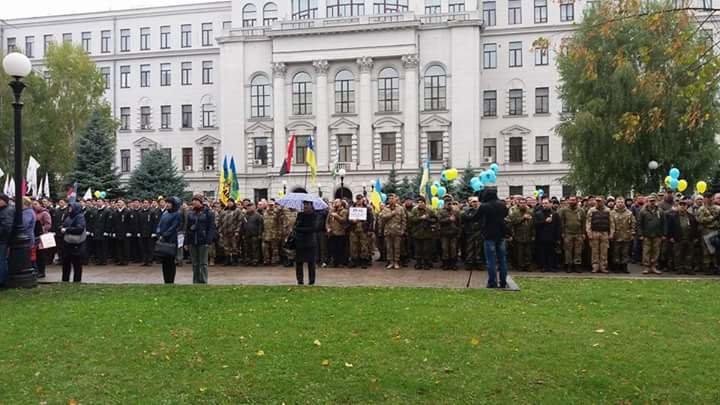 В Днепре прошёл военный марш-парад (ФОТО), фото-1