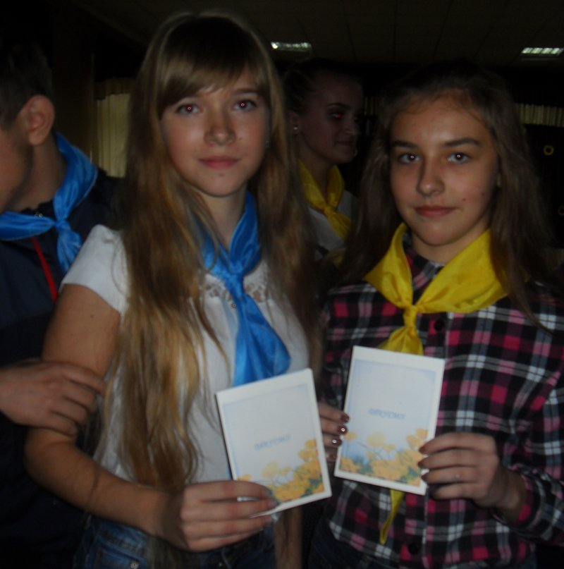 Як юні патріоти в Покровську (Красноармійську), Селидовому та Новогродівці захисників поздоровляли, фото-4