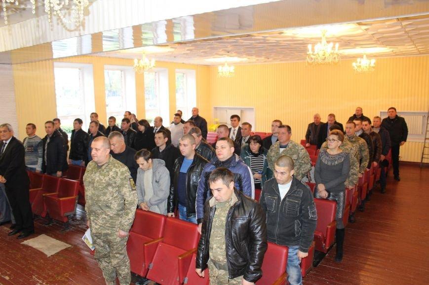 В Доброполье ООО ДТЭК поздравили Защитников Украины, фото-3