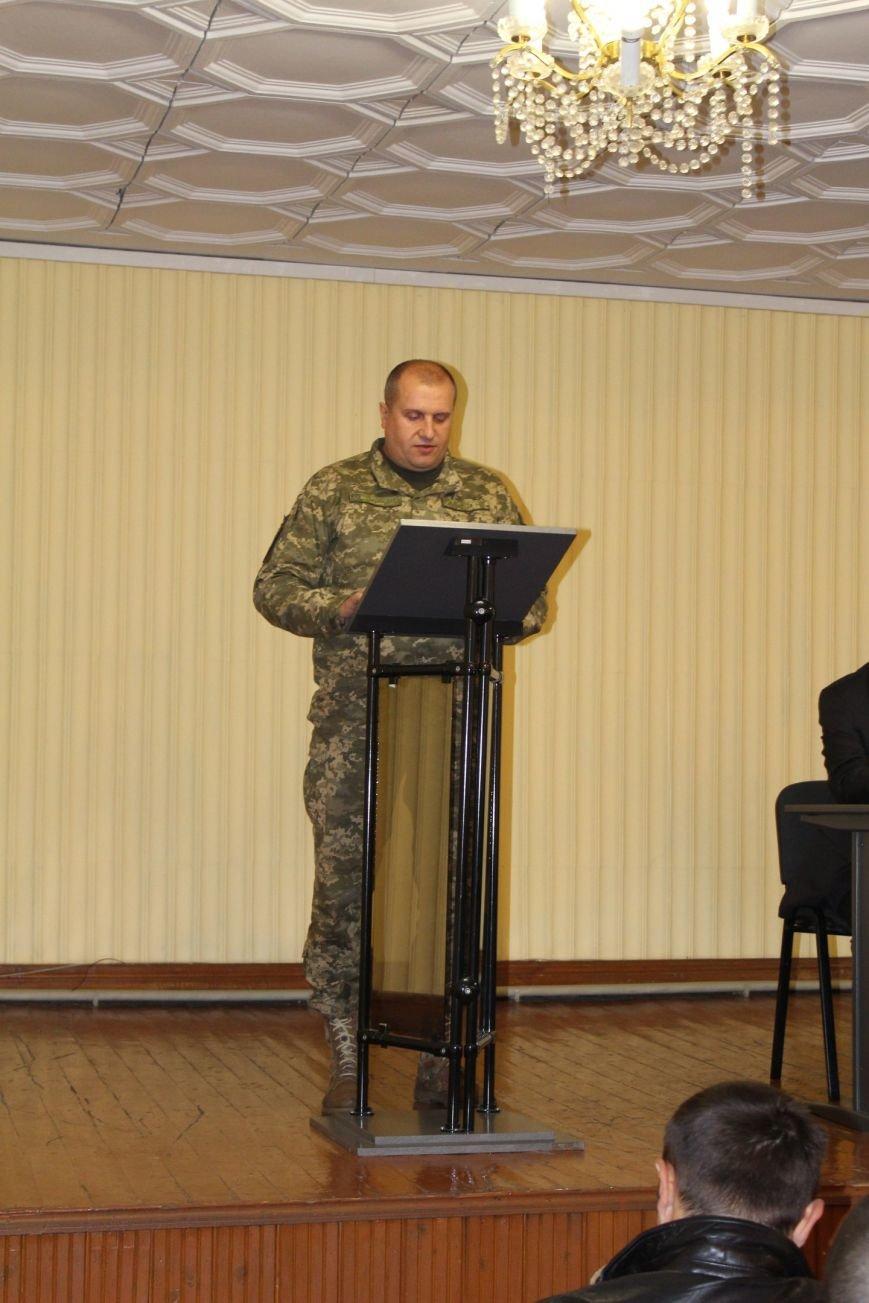 В Доброполье ООО ДТЭК поздравили Защитников Украины, фото-1