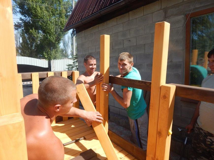 В Доброполье прошло открытие детской площадки (ФОТО), фото-2