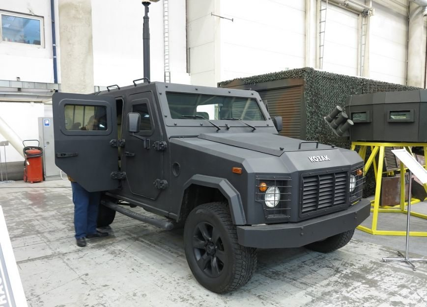 Зброя та безпека 2016: Нові бронеавтомобілі «Козак» (+ ВІДЕО), фото-3