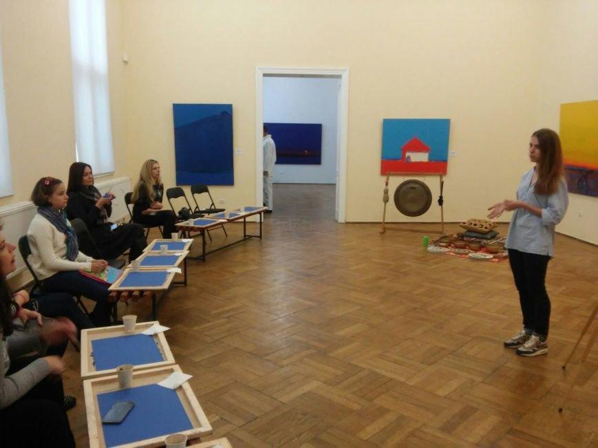 У Львові відбувся майстер-клас із відтворення живописних пейзажів в техніці пастелі (ФОТО), фото-9