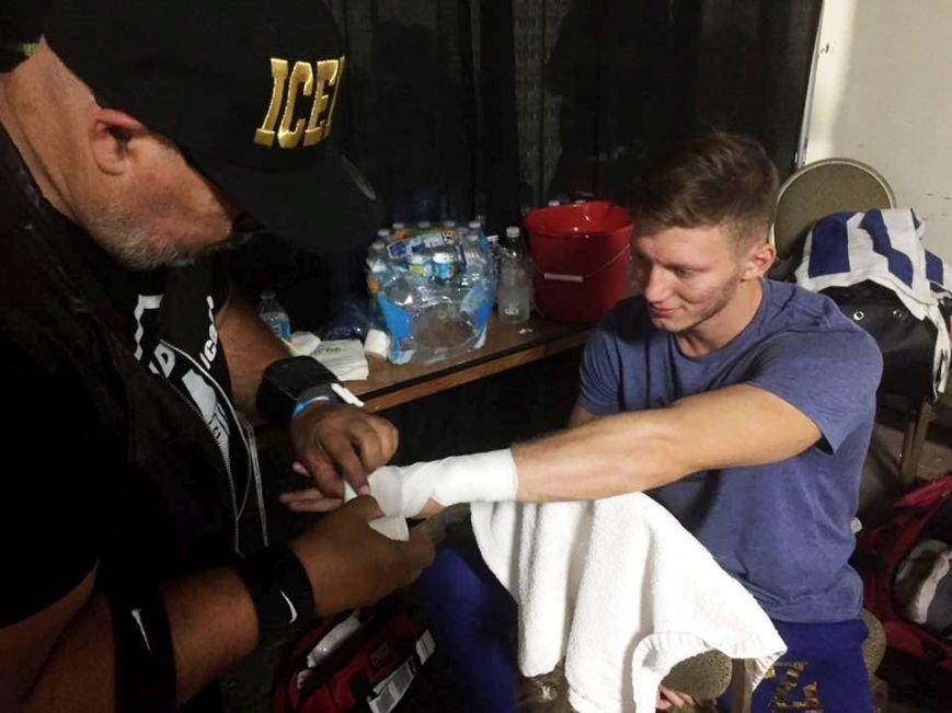 Херсонский боксер Олег Зубенко одержал очередную победу на ринге (фото), фото-1
