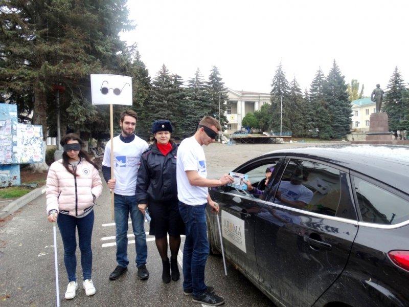 """В Пятигорске прошла акция """"Незрячий - тоже пешеход!"""", фото-1"""