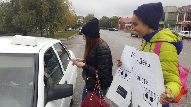 """В Пятигорске прошла акция """"Незрячий - тоже пешеход!"""", фото-4"""
