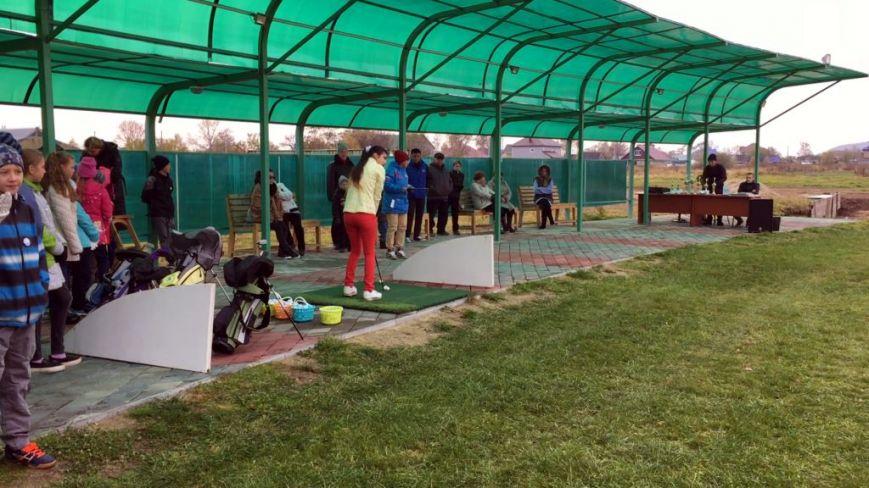 Юные гольфисты Сахалина определили лучших на осенней спартакиаде, фото-1