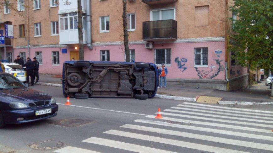 "ДТП в Кропивницком: ""ВАЗ"" перевернул микроавтобус (ФОТО), фото-5"