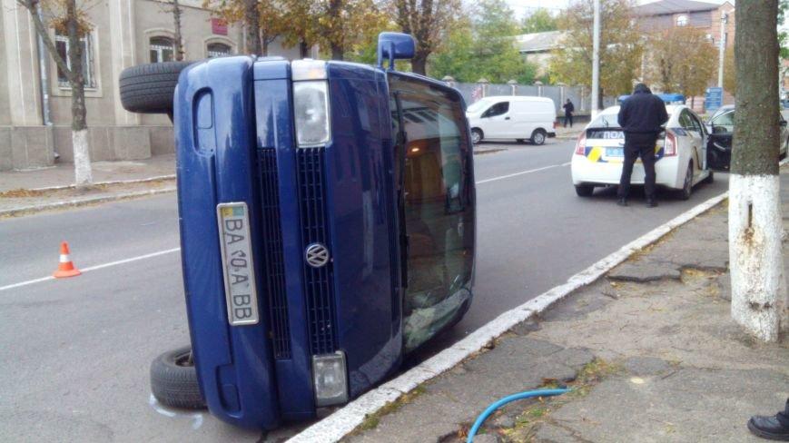 "ДТП в Кропивницком: ""ВАЗ"" перевернул микроавтобус (ФОТО), фото-6"