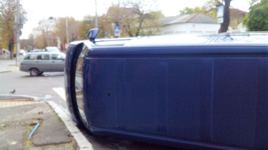 "ДТП в Кропивницком: ""ВАЗ"" перевернул микроавтобус (ФОТО), фото-7"