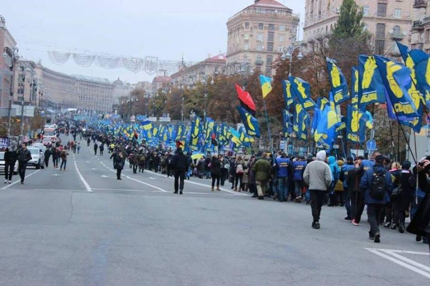 Чернівчани вийшли на марш слави у Києві (ФОТО), фото-2