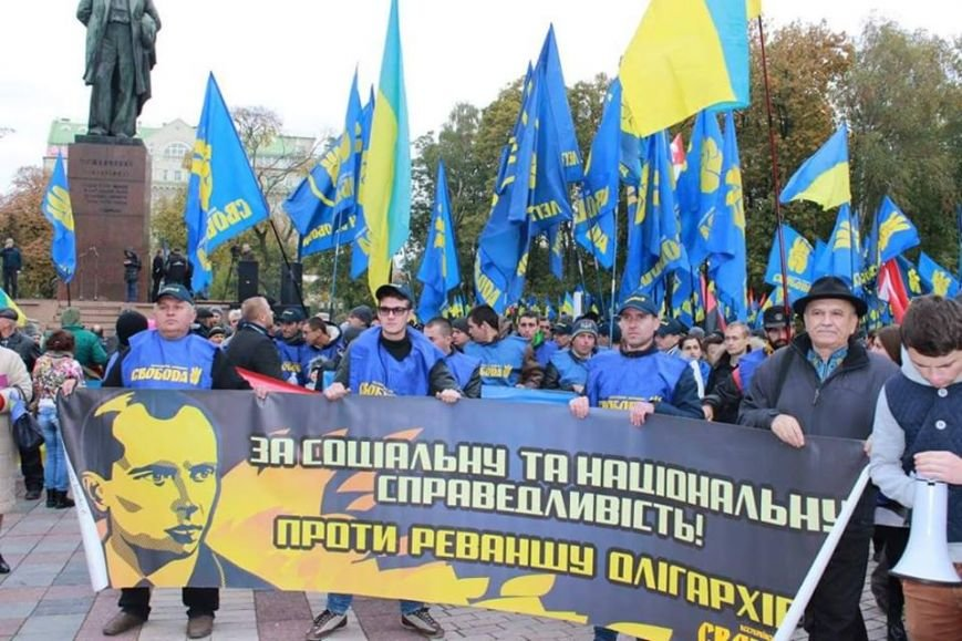 Чернівчани вийшли на марш слави у Києві (ФОТО), фото-6