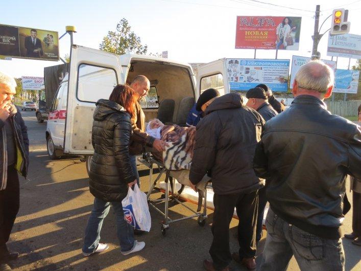 """В Мелитополе """"скорая"""" с пациентом попала в ДТП, - ФОТО, фото-3"""