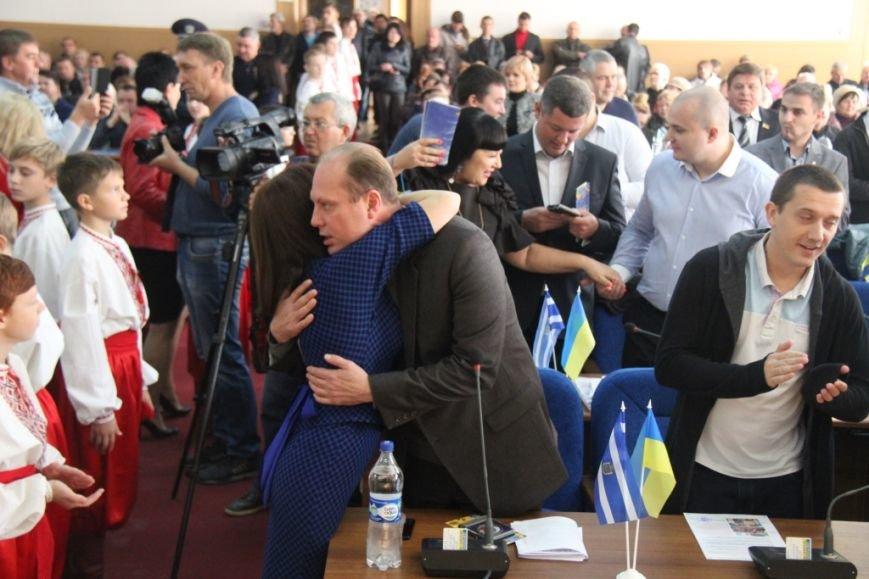 Как в Херсоне женщины-депутаты своих коллег мужчин поздравляли (фоторепортаж), фото-7