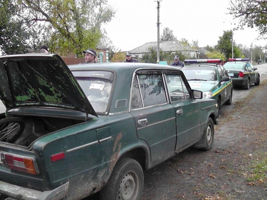На Кировоградщине обнаружили угнанный автомобиль (ФОТО), фото-1