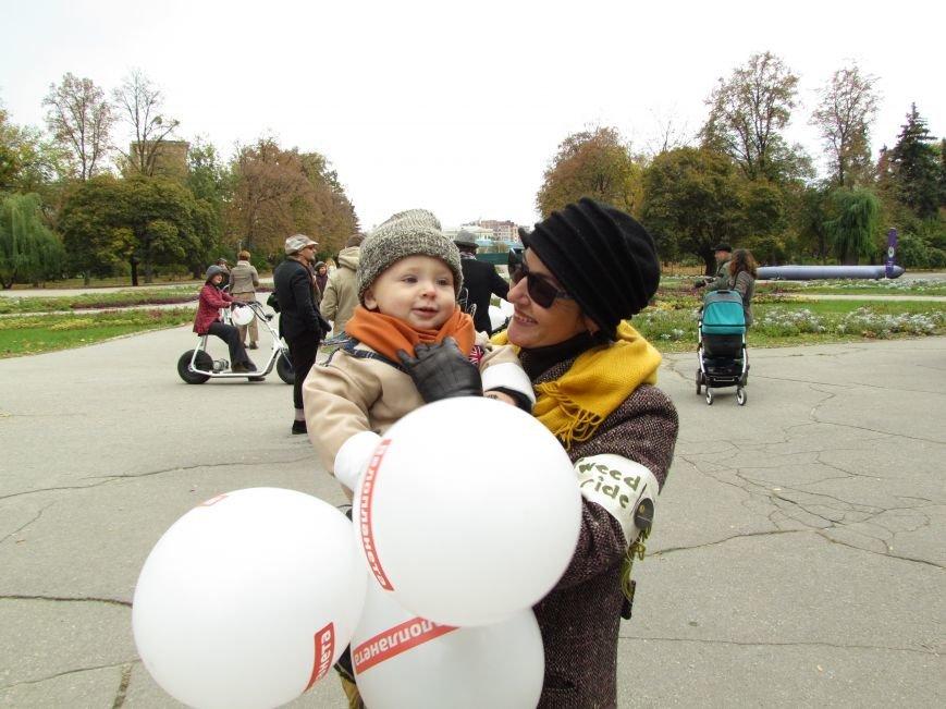 Твид, юбка-макси и кепи: в Харькове прошел костюмированный велопробег (ФОТО), фото-11