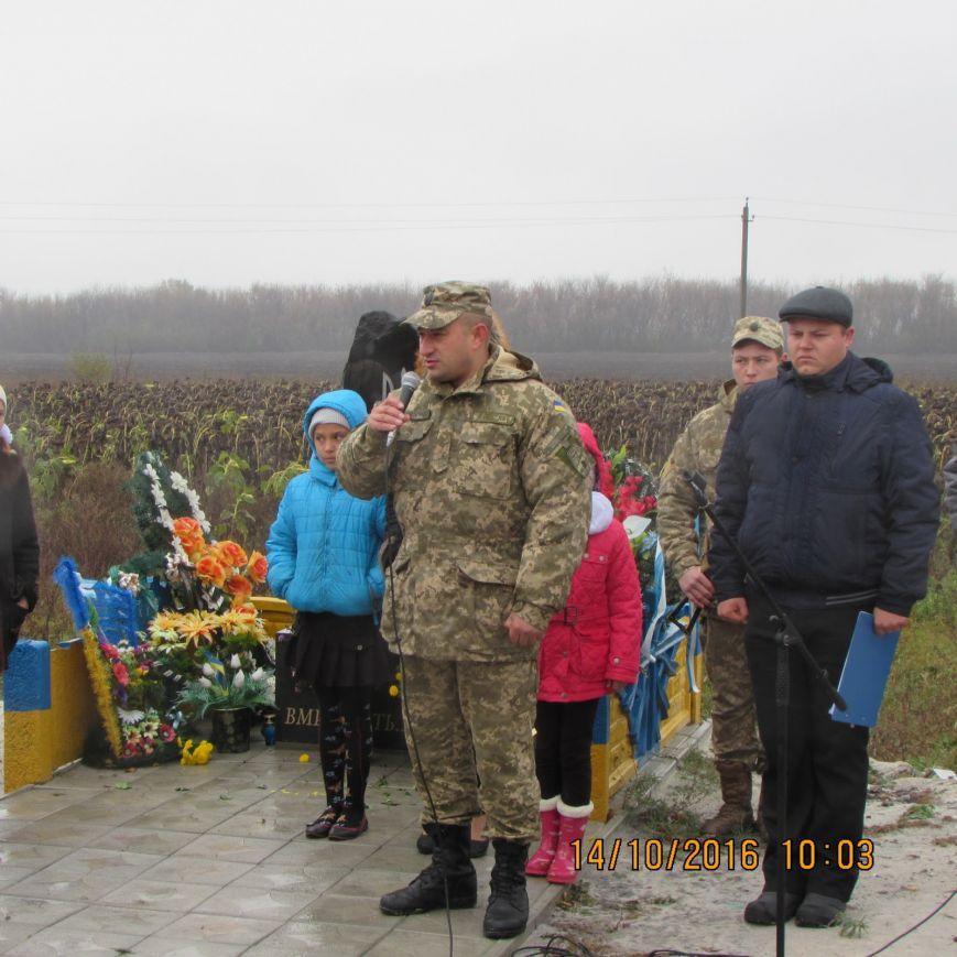 В Добропольском районе прошёл митинг-реквием погибшим воинам ВСУ, фото-3