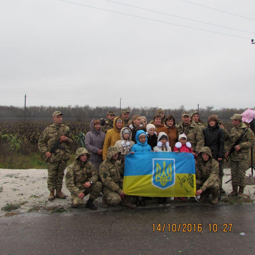 В Добропольском районе прошёл митинг-реквием погибшим воинам ВСУ, фото-2