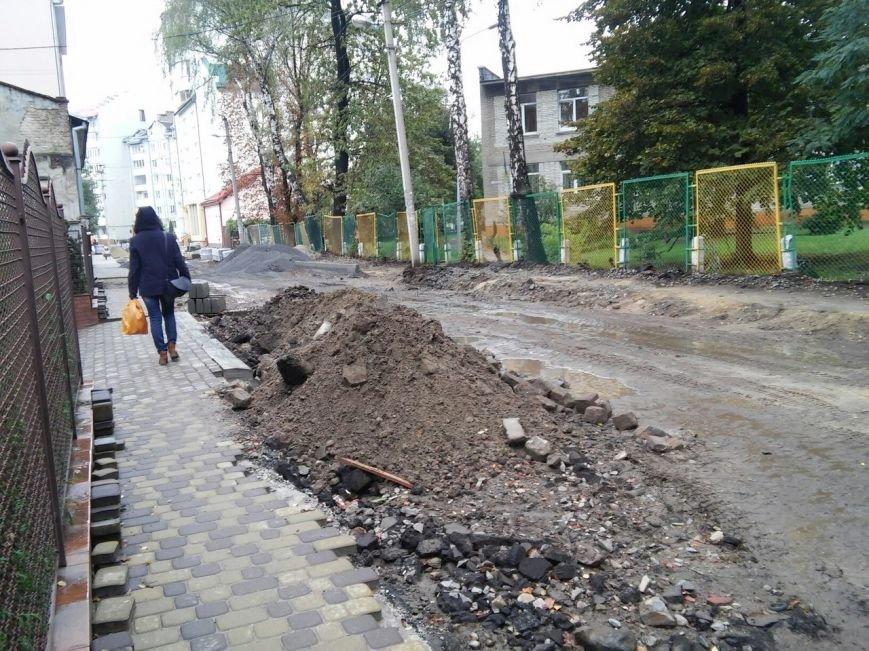 Як у Львові відбувається ремонт на вулиці Бальзака (ФОТО), фото-6