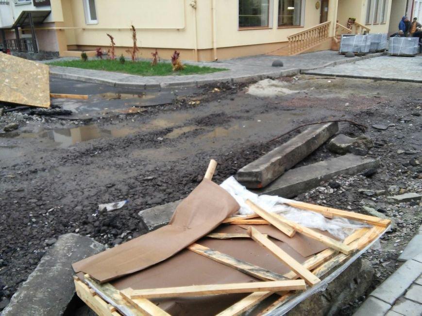 Як у Львові відбувається ремонт на вулиці Бальзака (ФОТО), фото-2