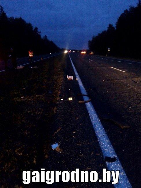 """На трассе """"Минск-Гродно"""" БМВ Х6 """"зажевал"""" передним колесом попутный велосипед: погибла женщина, фото-3"""