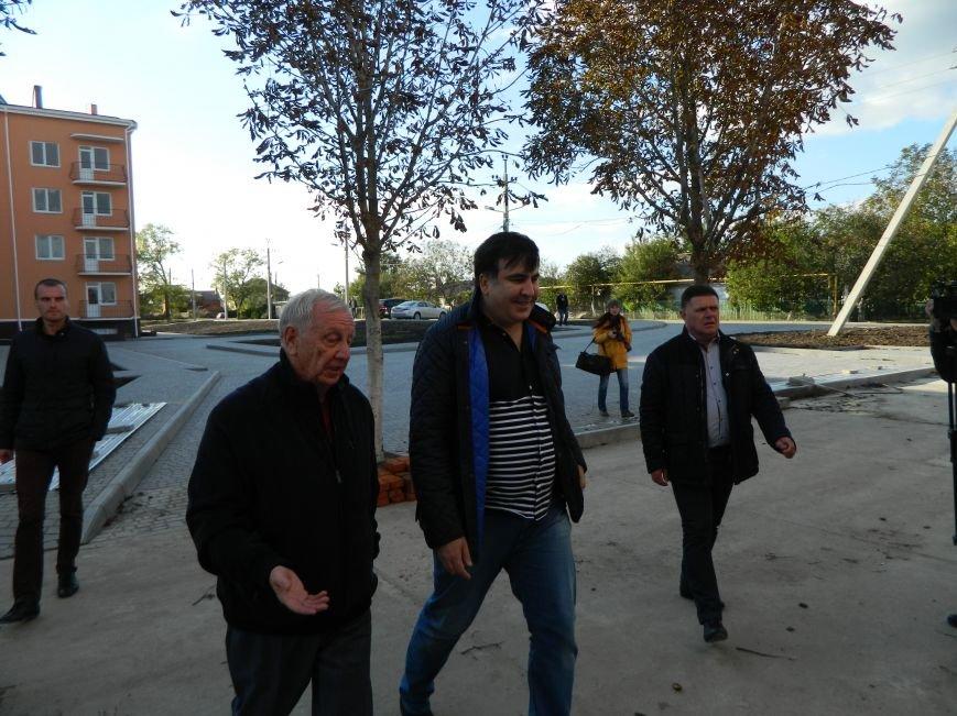 Саакашвили внезапно нагрянул в Черноморск (Фото+Видео), фото-3