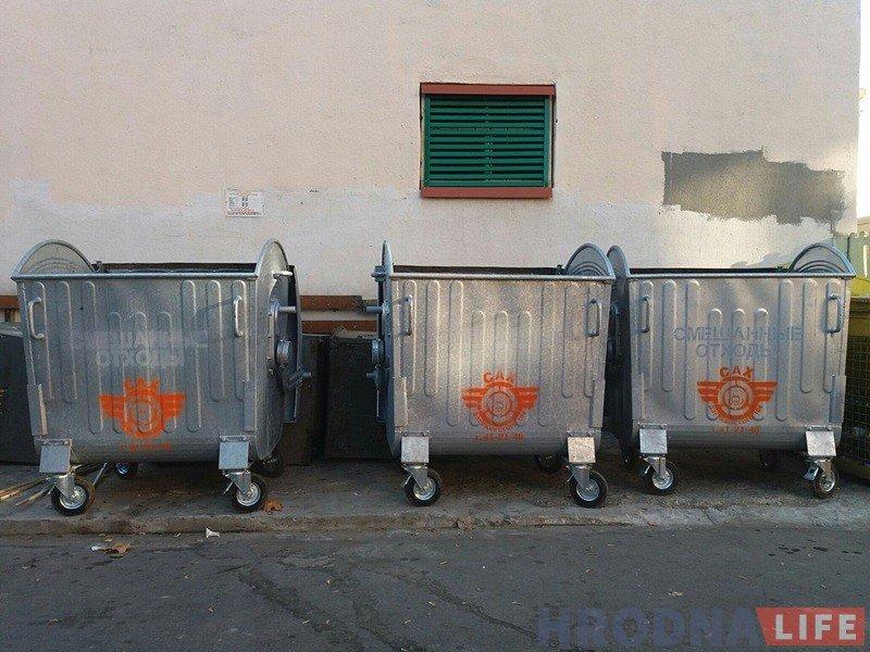 В Гродно старые мусорные контейнеры начали менять на новые, фото-1
