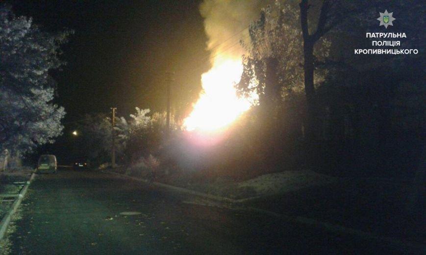 В Кропивницком патрульные спасли семью, которая спала в горящем доме (ФОТО), фото-2