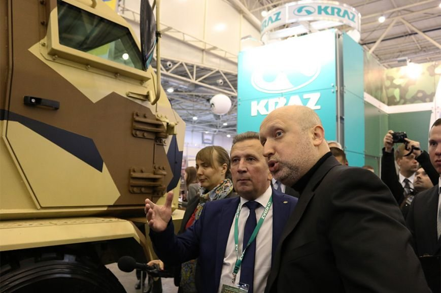КрАЗ достойно представил свои броневики и вездеходы на выставке «Оружие и безопасность-2016» (ФОТО), фото-6