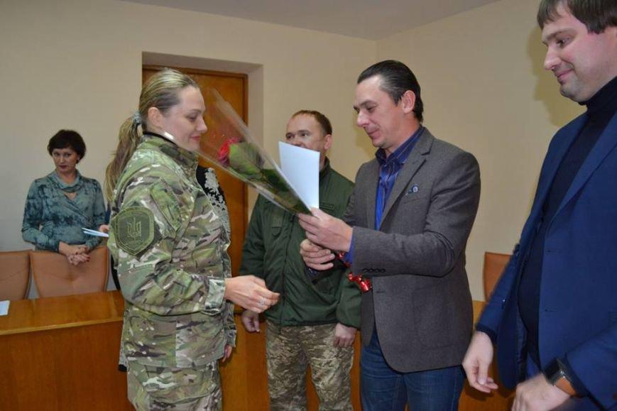 В Днепрe поздравили участников боевых действий (ФОТО), фото-4
