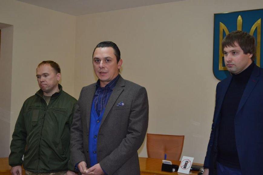 В Днепрe поздравили участников боевых действий (ФОТО), фото-1