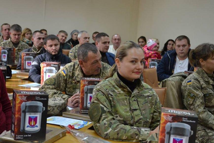 В Днепрe поздравили участников боевых действий (ФОТО), фото-3