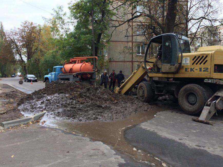 В Сумах разрыли только что заасфальтированную дорогу (ФОТО), фото-2