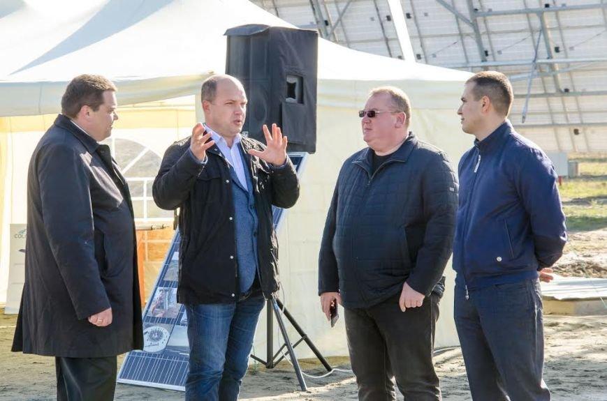 На Днепропетровщине на полную мощность заработала уникальная для Восточной Европы солнечная электростанция (ФОТО), фото-4