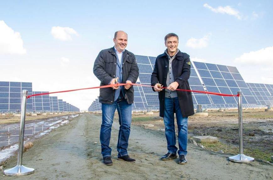 На Днепропетровщине на полную мощность заработала уникальная для Восточной Европы солнечная электростанция (ФОТО), фото-1