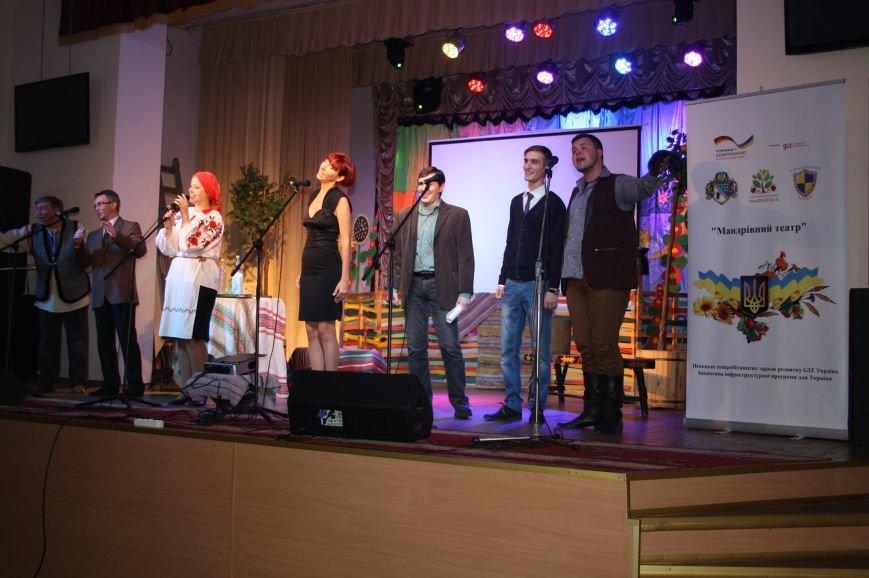 «Странствующий театр» побывал со спектаклями в 15 учебных заведениях Днепропетровщины, фото-6