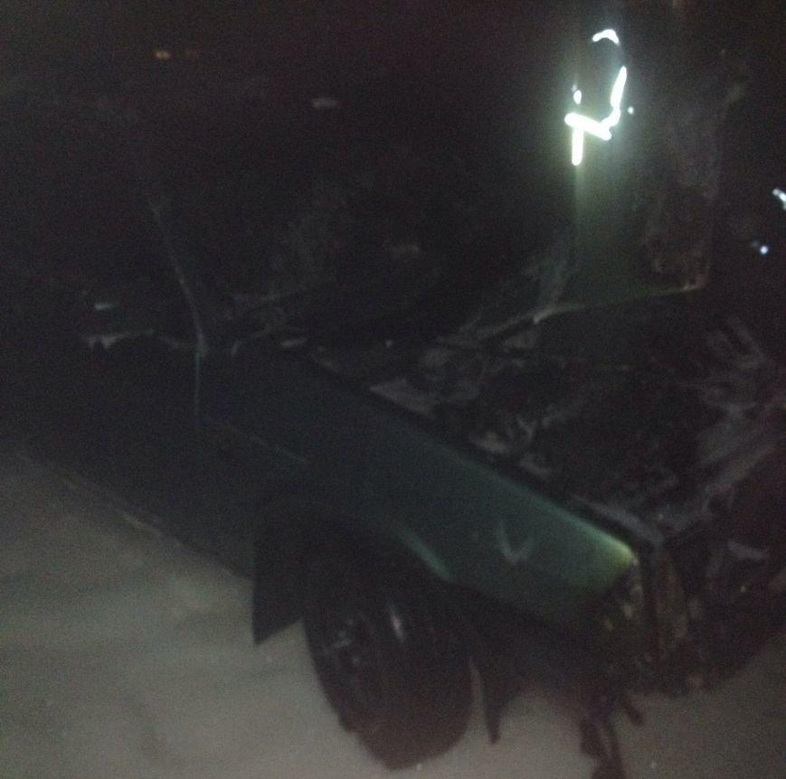 В Кировоградской области горел легковой автомобиль, фото-1