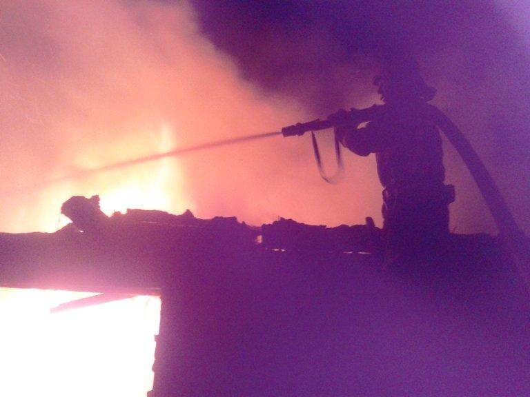 Светловодск: ликвидирован пожар хозяйственной постройки, фото-1