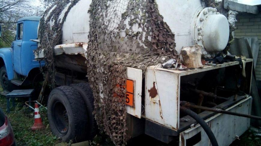 На Полтавщине были выявлены две подпольные газовые автозаправки (ФОТО), фото-1