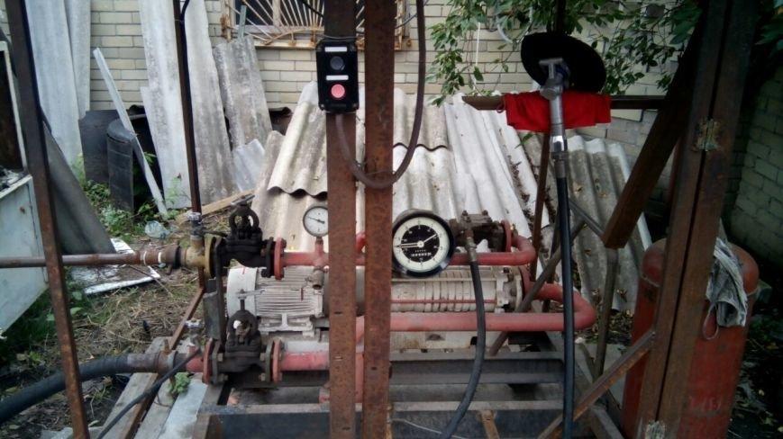 На Полтавщине были выявлены две подпольные газовые автозаправки (ФОТО), фото-4