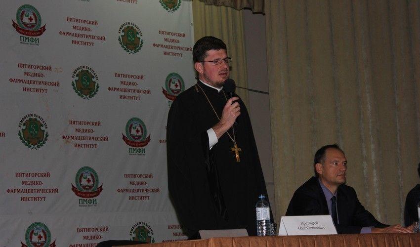 Студенты Пятигорска встретились с представителями духовенства, фото-2